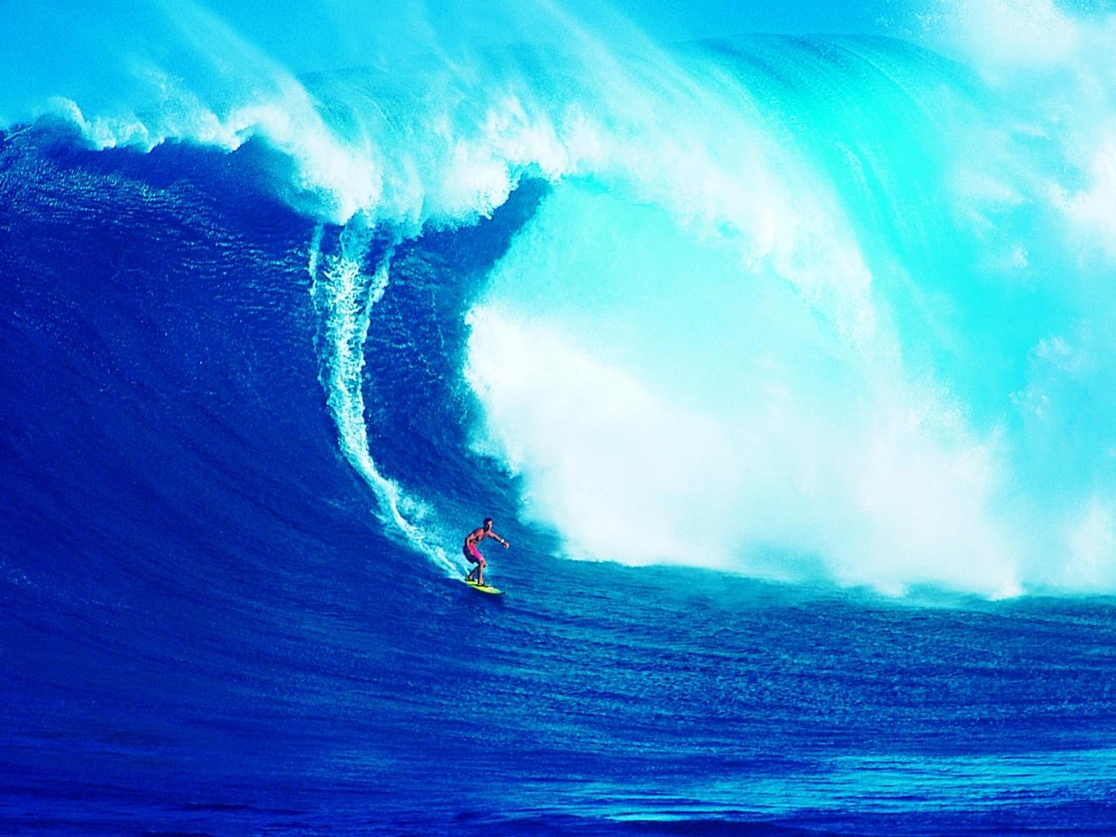 Серфинг обои фото поймал волну